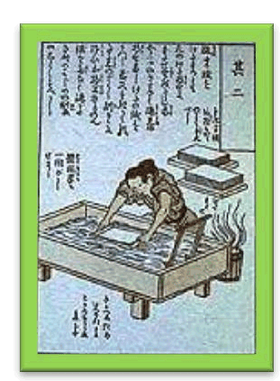 AD 610 Papermaking spreads across Asia, Middle East and Europe