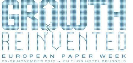 Growth reinvented – CEPI announces European Paper Week 2013
