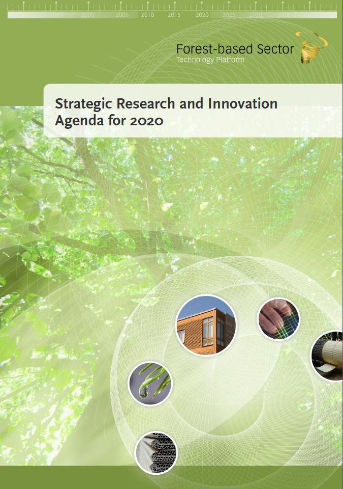 The Forest-‐based Sector launches its revised Vision for 2030 and renewed Strategic Research and Innovation Agenda for 2020