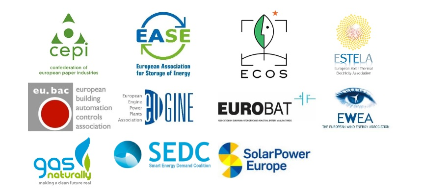 "Joint declaration by a group of industry associations ""2016, time to deliver… an ambitious power market reform"""