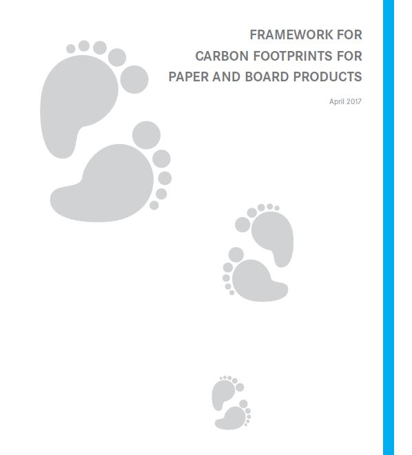 Framework for Carbon Footprints for paper and board products