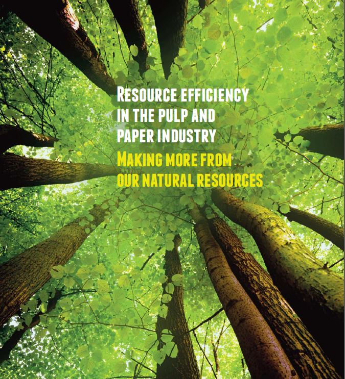 Resource efficiency in the Pulp and Paper Industry – Making more from our natural resources
