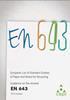CEPI Guidance for revised EN643 published