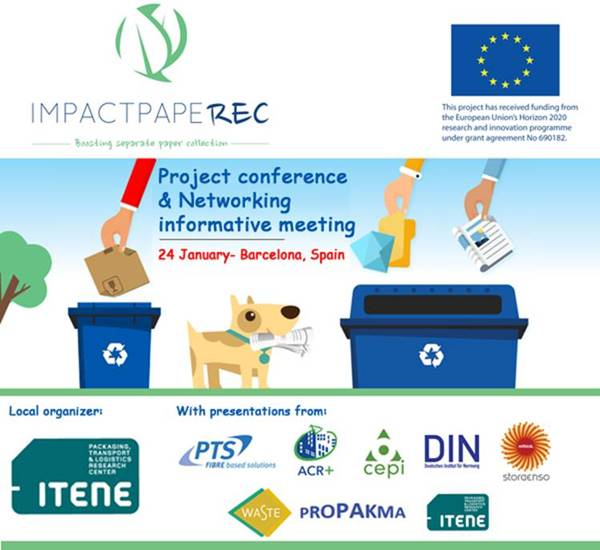 IMPACTPapeRec Project Conference and Networking Informative Meeting