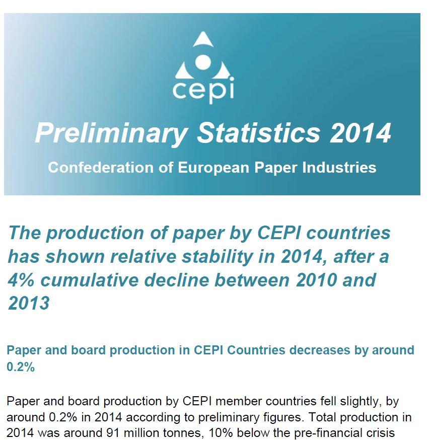 Preliminary Statistics 2014