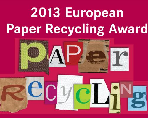 ERPC Launches Call for Candidates for European Paper Recycling Award 2013
