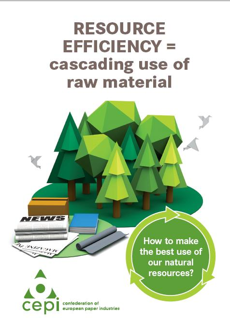 Resource efficiency – cascading use of raw material