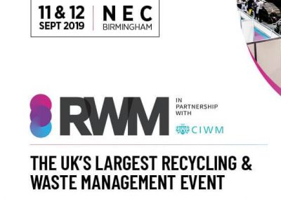 CEPI promoting guidance on separate collection at RWM, UK