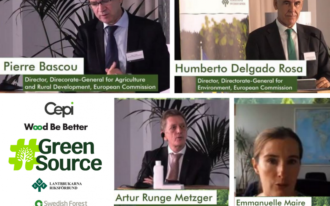 Watch the seminar: EU FOREST-BASED INDUSTRIES FOR A SUSTAINABLE FUTURE