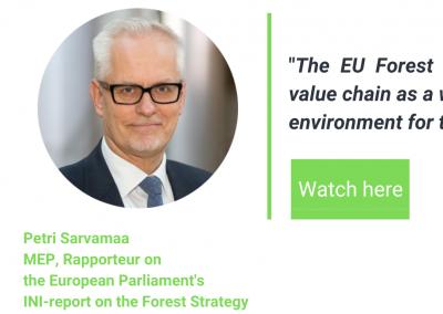 MEP Petri Sarvamaa at Paper & Beyond 2020