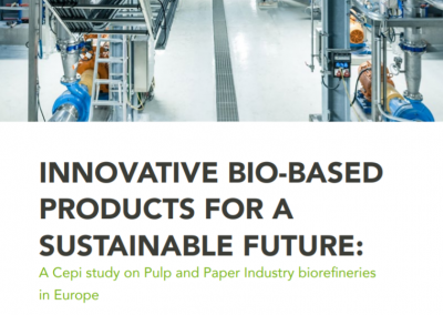 Cepi study on pulp & paper industry biorefineries in Europe