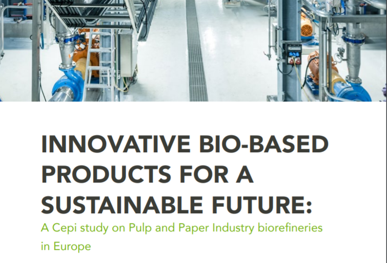 Cepi study on pulp & paper industry biorefineries in Europe