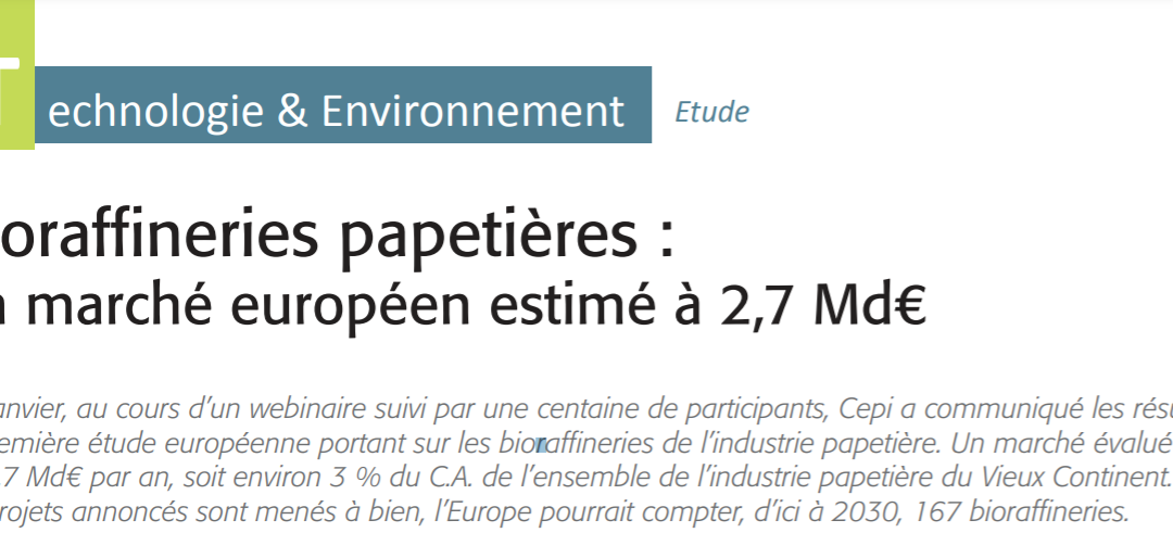 "Article published in ""La Papeterie Magazine"" (ENP Publishing Group), N° 371, February-March 2021"