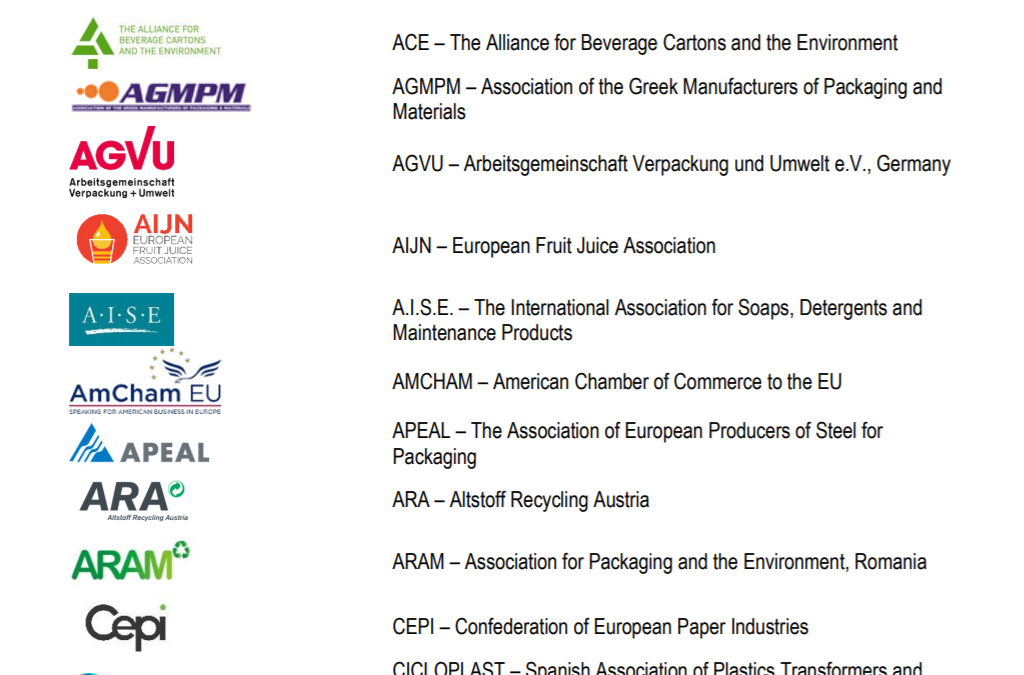 Joint industry letter on the review of the PPWD