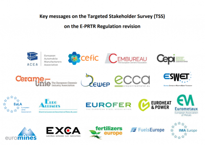 Key messages on the Targeted Stakeholder Survey (TSS) on the E-PRTR Regulation revision