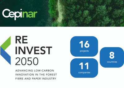 REINVEST 2050:How does the paper industry advance innovative low-carbon investments in Europe?