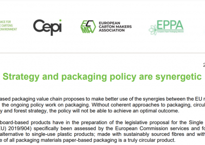 Forest Strategy and packaging policy are synergetic